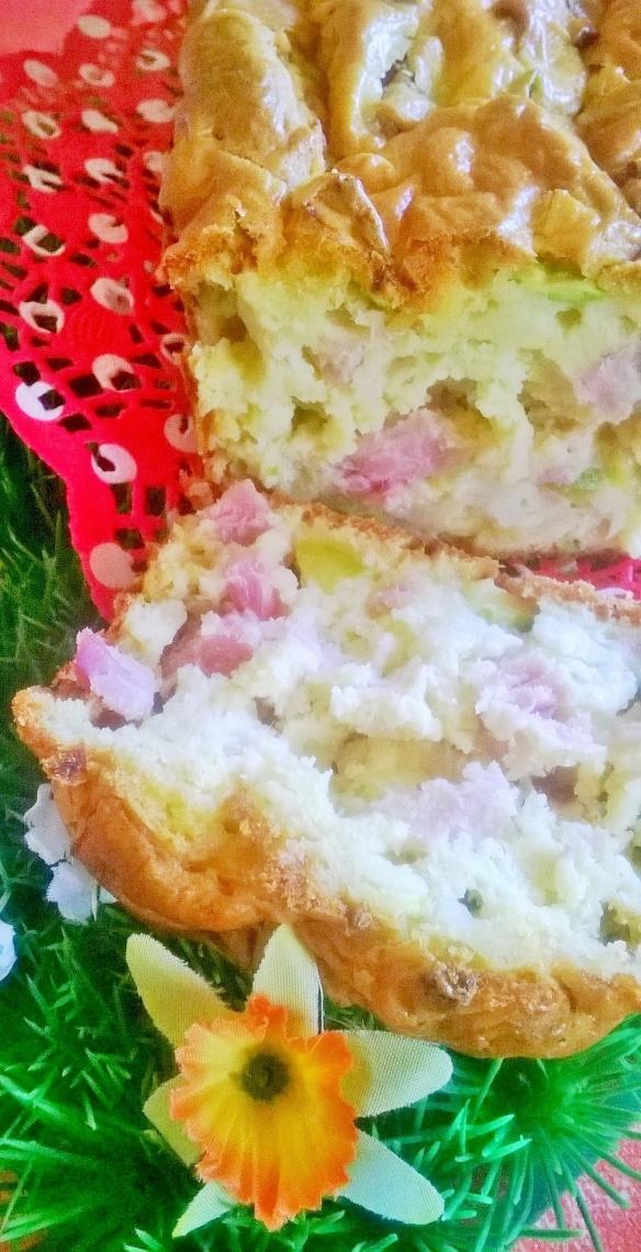 Recette Cake Jambon Babybel